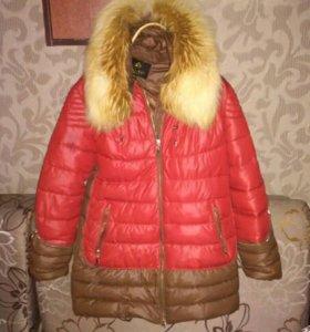 Куртка удлиненная, зима