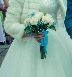 Свадебный полушубок