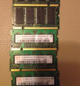 Память для ноутбука so-dimm pc2-5300s