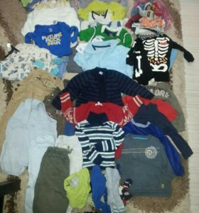 Вещи на мальчика 89-92