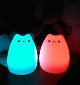 """Оригинальный Ночник LED""""Кошка"""", новый"""