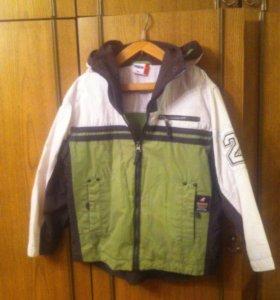 Куртка ветровка  подкладом тел 89022663096