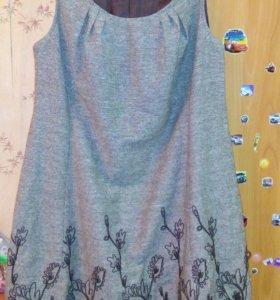 Платья шилось на заказ р50-52