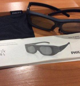 3d очки Philips PTA507