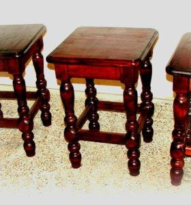 Столы, стулья, табуреты...