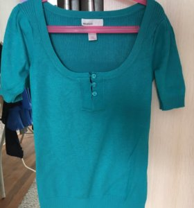 Кофта/футболка mango/юбка Bershka