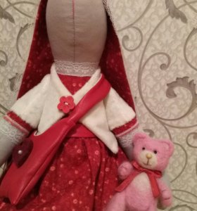 Кукла Тильда-Зайка