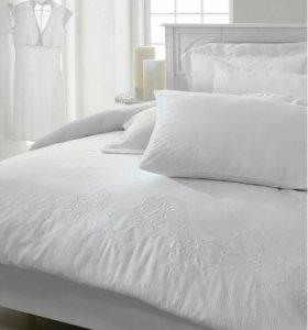 Белье постельное с полотенцем натуральное