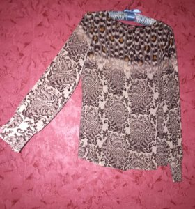 Шифонах рубашка блузка