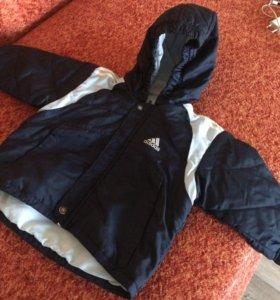 Куртка на годик Адидас