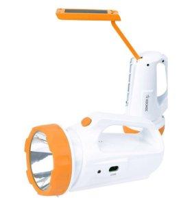 Аккумуляторный светодиодный фонарь-светильник