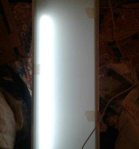 Полка светильник