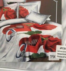 Комплект нового постельного белья