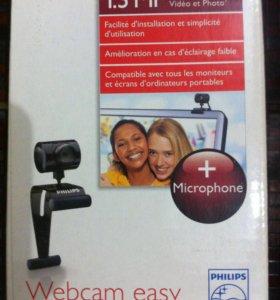 Веб камера с микрофоном PHILIPS SPC230NC