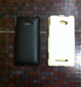 Чехлы из натуральный кожи для смартфонов HTC