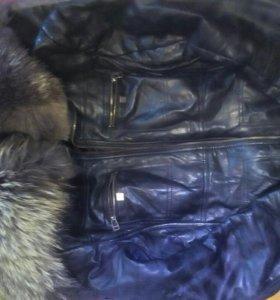 Куртка кожонная