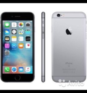 iPhone 6 чёрный 16 гб