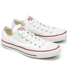 Кеды Converse All star белые низкие