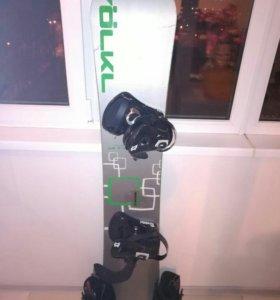 Комплект сноуборд volkl