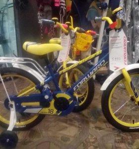 """Велосипед детский форвард метеор 17"""""""