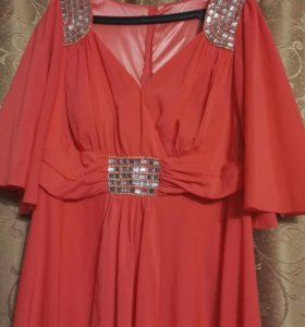 Вечернее платье р. 56-58