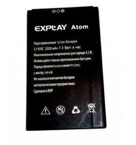 Аккумулятор новый explay atom