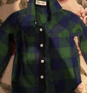 Новая теплая рубашка