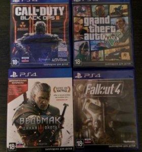 Игры PS4 продаю или обменяю