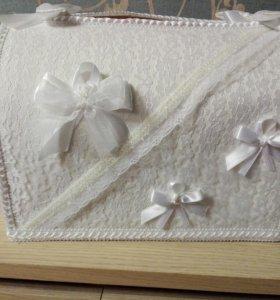 Коробка для конвертов на свадьбу