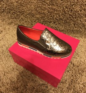Туфли женские Camidy серебро