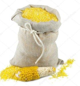 Крупа кукурузная для корма животным