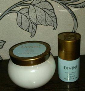 Крем для тела и дезодорант divine