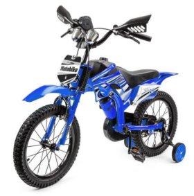 Велосипед - мотобайк