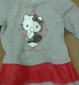 Пакет одежды на девочку р.86