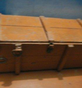 Деревянный ящик (сундук)