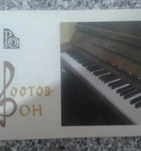 Пианино с режимом клавесина
