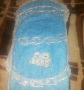 Конверт для новорожденных для мальчика
