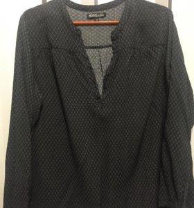 Блуза-рубашка 54 размер