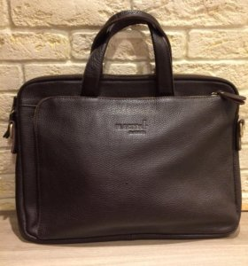 Мужская сумка из натуральной кожи Dr.Koffer