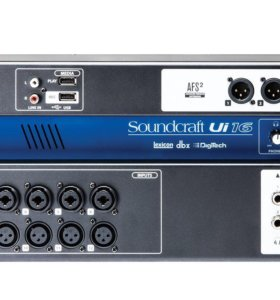 Soundcraft Ui16 - цифровой микшер новый
