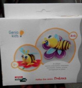 Набор для лепки,пчелка
