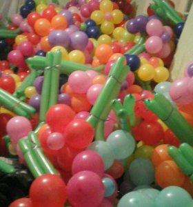 Оформление шарами воздушными и гелиевыми