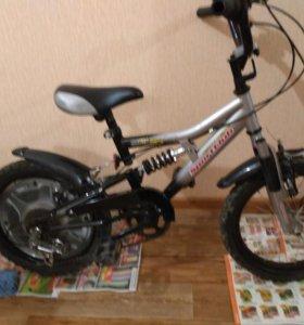 Велосипед детский (возраст 4-7 лет)