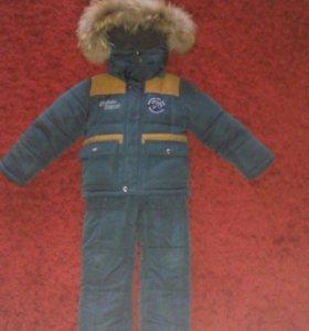 Продам зимний костюм,р 86-92, цена 1600