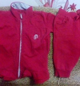 Одежда на девочку от6-12 месяцев