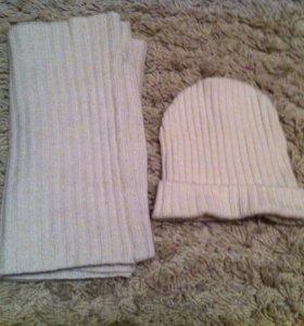 Комплект шарф шапка h&м