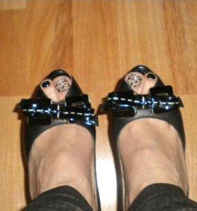 Туфли, натуральная кожа