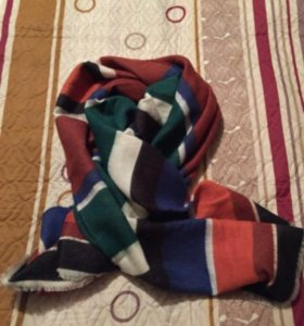 Новый шарф-плед Zara