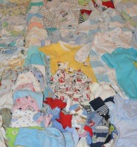 Детская одежда 52 - 86 р, много :)