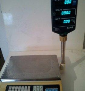 Весы б/у CAS AP-1